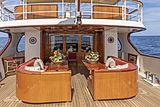 Montrevel yacht aft deck