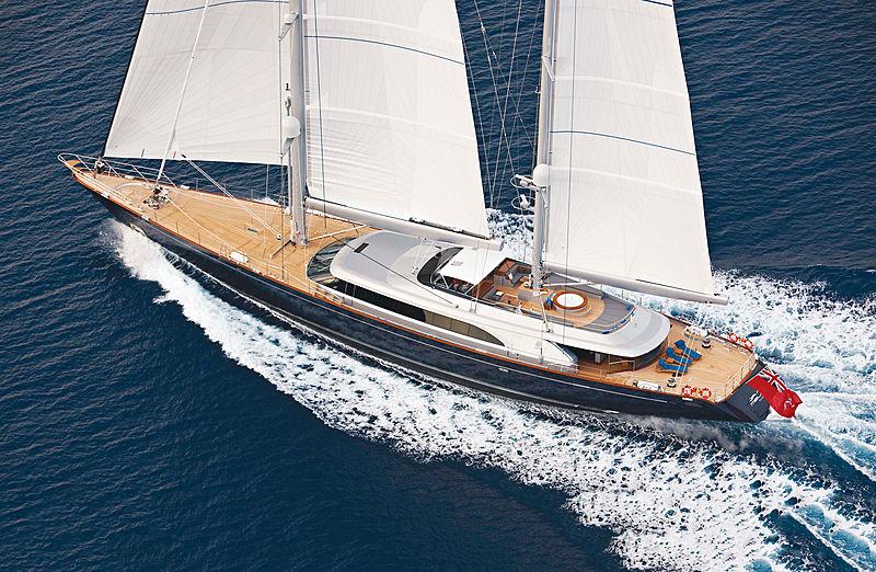 MELEK yacht Perini Navi