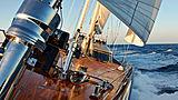 Melek yacht deck