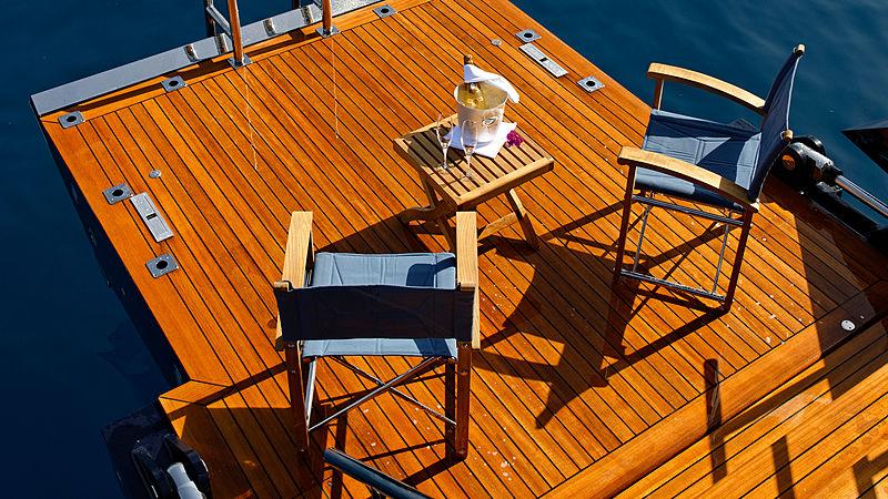 Melek yacht beach club platform