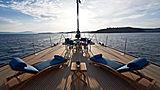 Melek yacht foredeck
