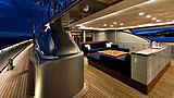 Melek yacht aft deck