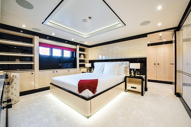 Elixir yacht stateroom