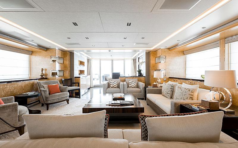 Naseem yacht saloon