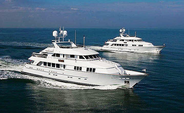 ARETI I yacht Burger Boat Company