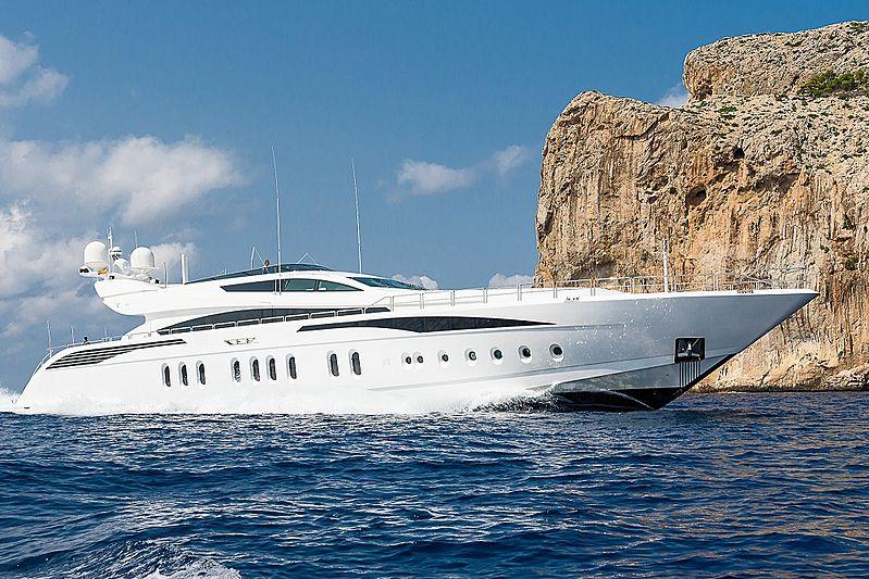 LISA IV yacht Leopard