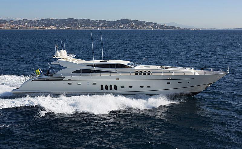 Eol B yacht cruising