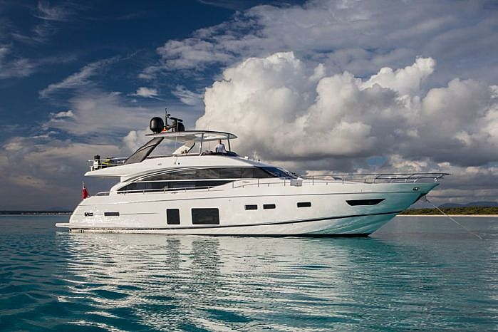 LA VIE yacht Princess