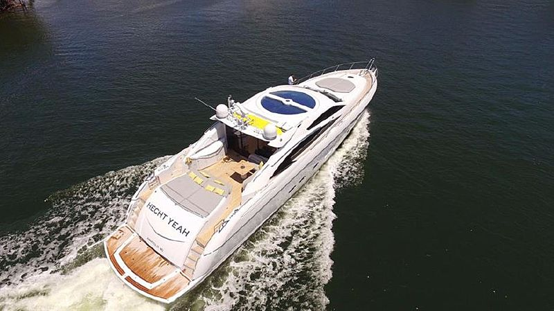 HECHT YEAH yacht Sunseeker