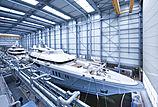 Mogambo yacht at Nobiskrug Shipyard