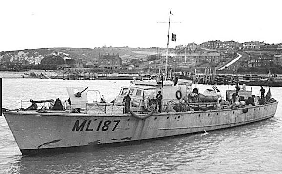 Fairmile B patrol boat