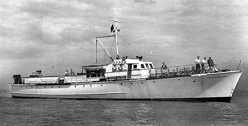 Fairmile yacht Golden Galleon