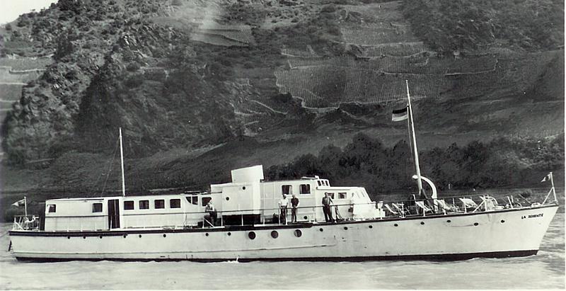 Fairmile yacht La Serenite