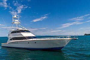 SALEMWOLF yacht Roscioli Donzi Yachts