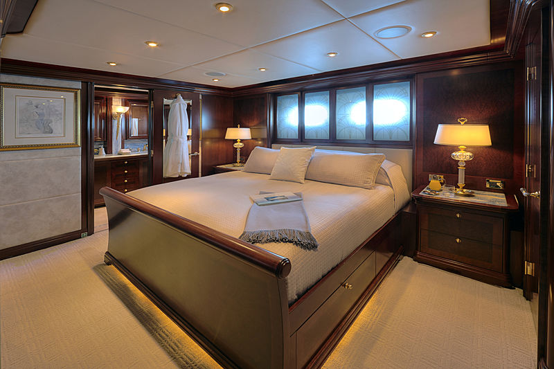 Zoom Zoom Zoom yacht stateroom