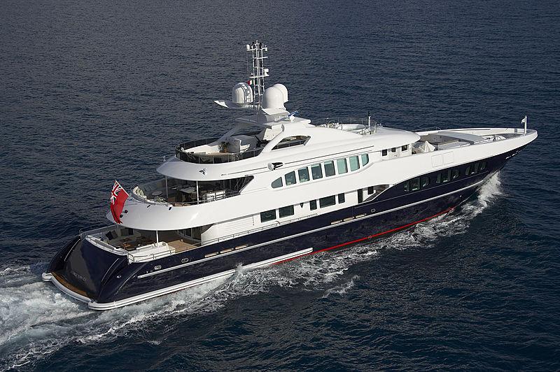Naseem yacht cruising