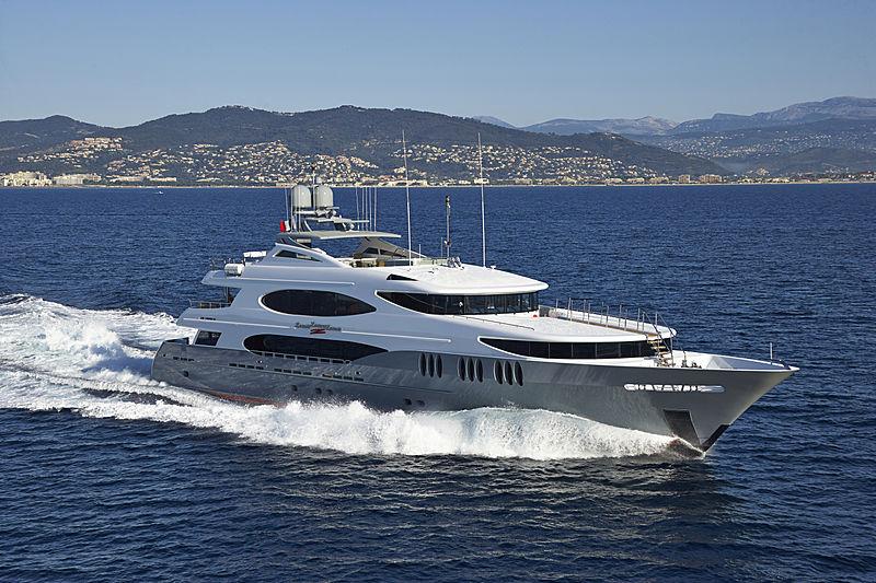 ZOOM ZOOM ZOOM yacht Trinity