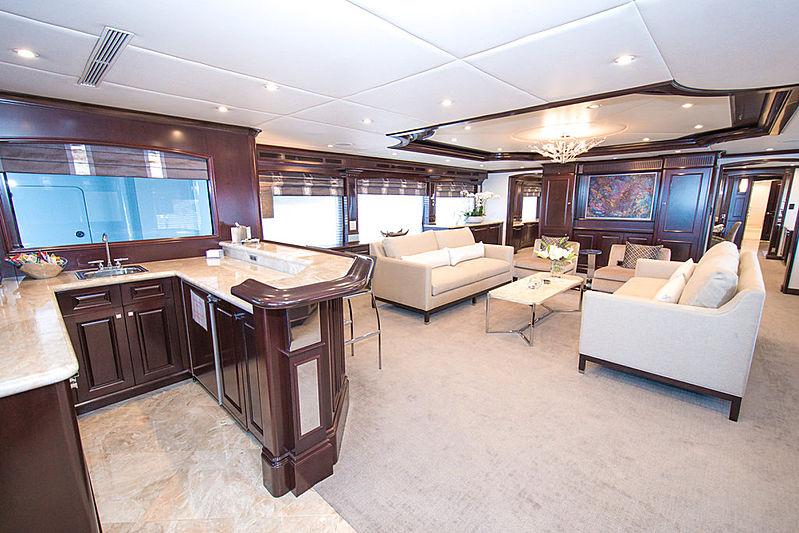 Rebel yacht saloon