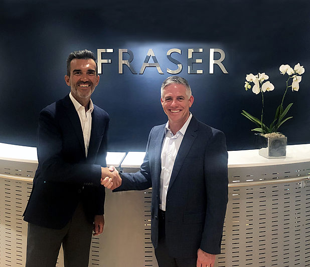 Raphael Sauleau and W. Brett McGill announce MarineMax's acquisition of Fraser