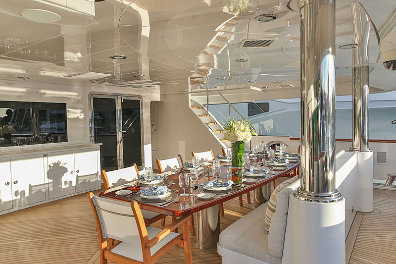 Rebel yacht deck