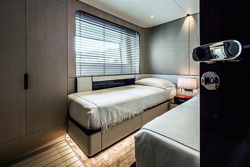 Azimut Grande 35 Metri stateroom
