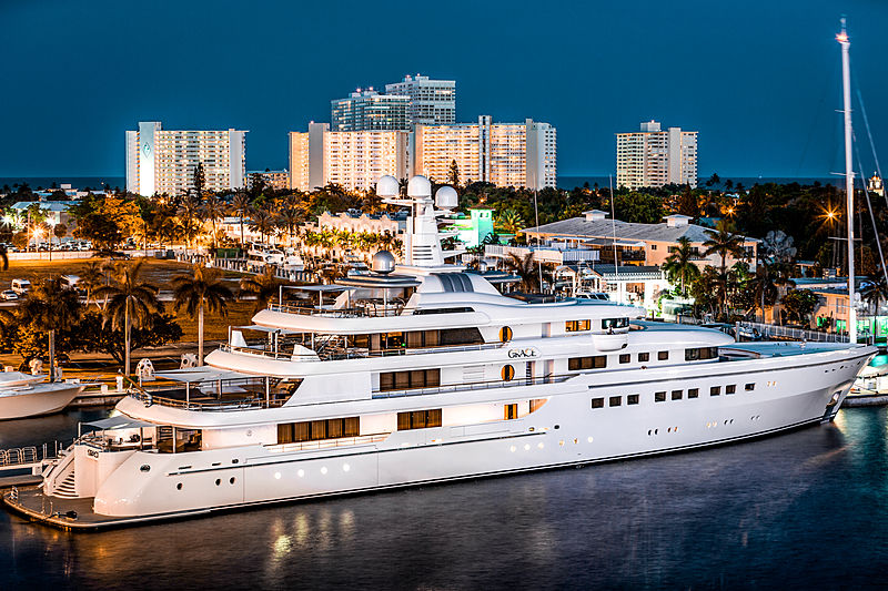 Grace yacht by Abeking & Rasmussen in Fort Lauderdale, USA