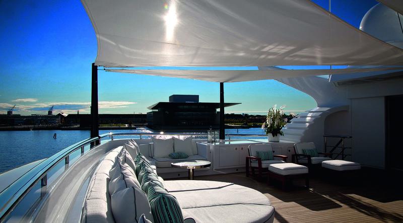 Odessa II sun deck