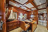 Elisa yacht study room