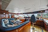 Elisa yacht wheelhouse