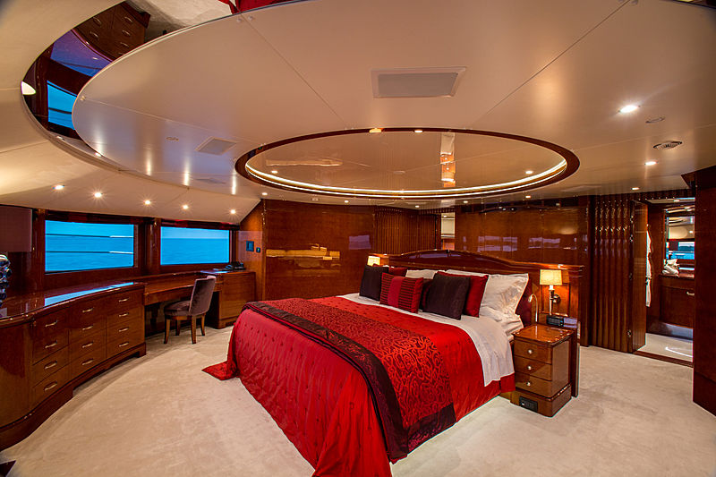 Checkmate yacht stateroom