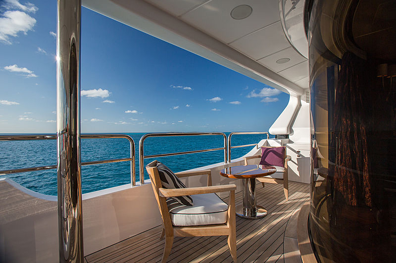 Checkmate yacht deck