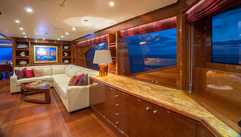 Checkmate yacht saloon