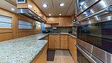 At Last yacht kitchen