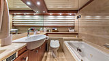At Last yacht bathroom
