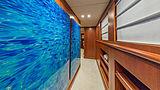 At Last yacht hallway