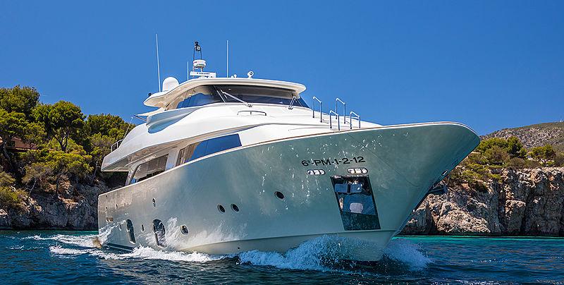 Malvasia II yacht cruising
