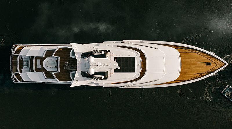 Artefact yacht launch at Nobiskrug