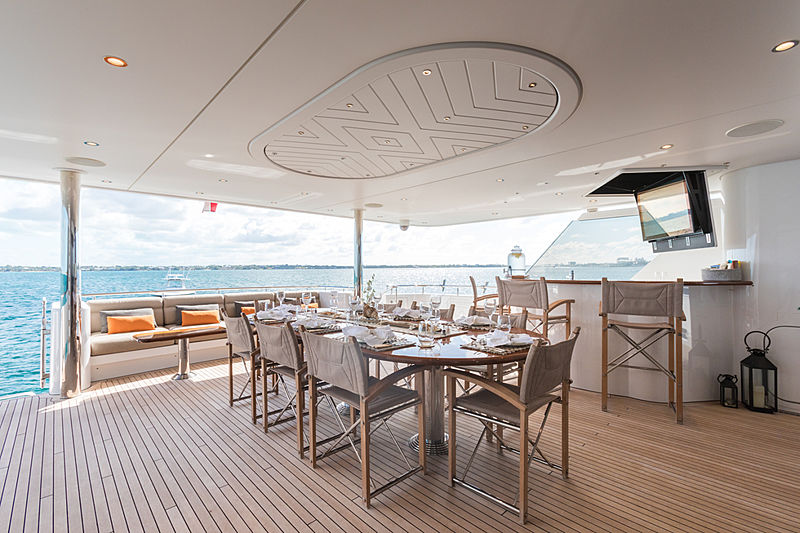 Next Chapter yacht deck