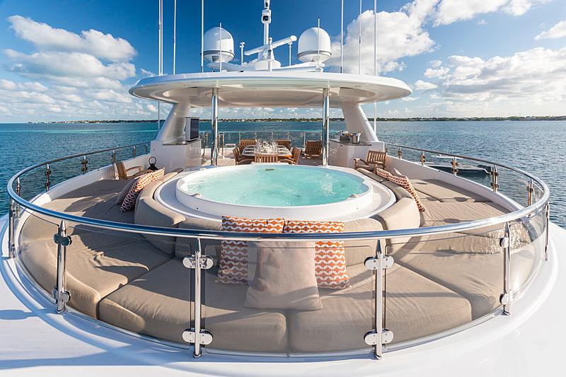 Next Chapter yacht jacuzzi