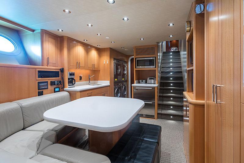 Next Chapter yacht kitchen