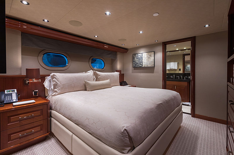 Next Chapter yacht stateroom
