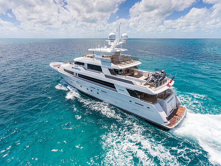 Next Chapter yacht