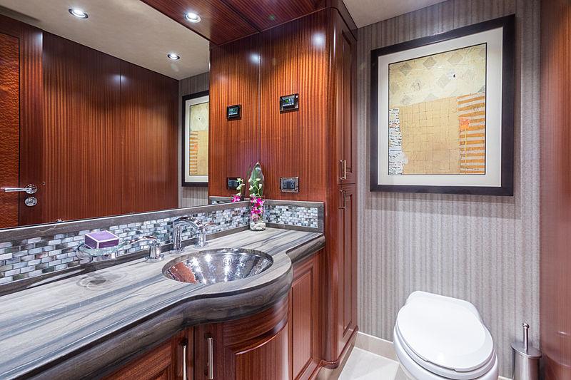 Next Chapter yacht bathroom