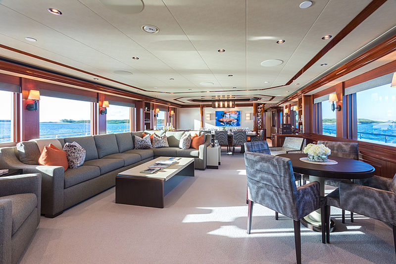 Next Chapter yacht saloon