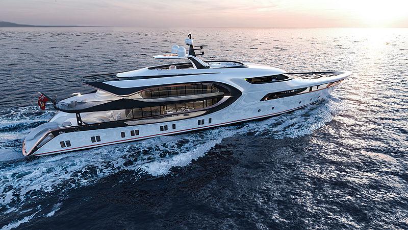 56m Nobskrug yacht concept by Vripack