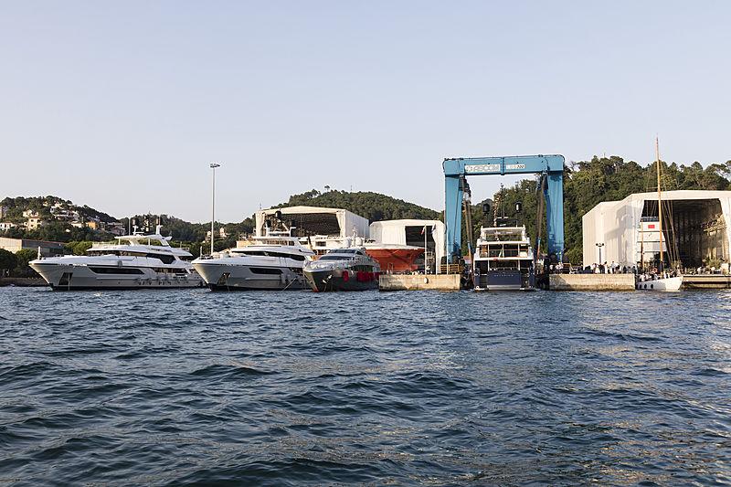 Baglietto C.10225 55m yacht launched in La Spezia