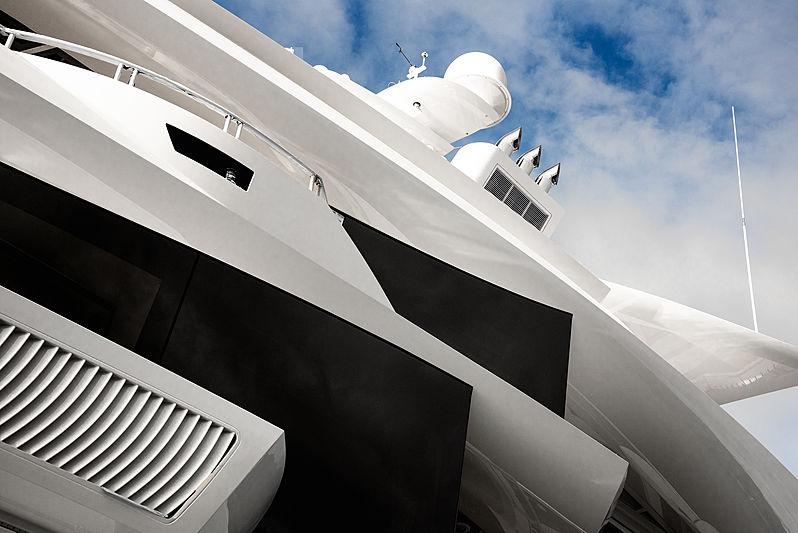 Nobiskrug yacht Artefact launch in Rendsburg