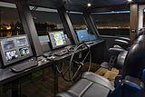 Encore yacht wheelhouse