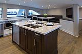 Encore yacht kitchen