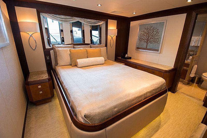 Dream Weaver yacht stateroom